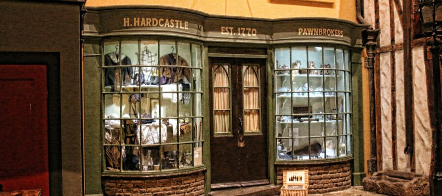 an image of a storefront at the black country museum