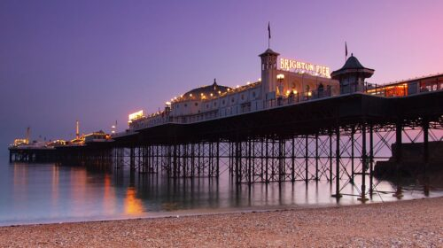 A picture of Brighton Seafront Pier