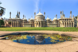 A picture of The Royal Pavilion near Brighton Seafront