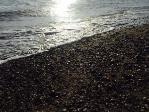 A picture of Southend beach