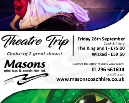 Theatre Trip – The choice of two great shows