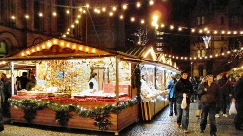 visit the best christmas markets int he uk