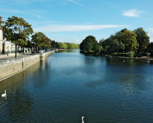 An image of the Great Ouse river in Bedford