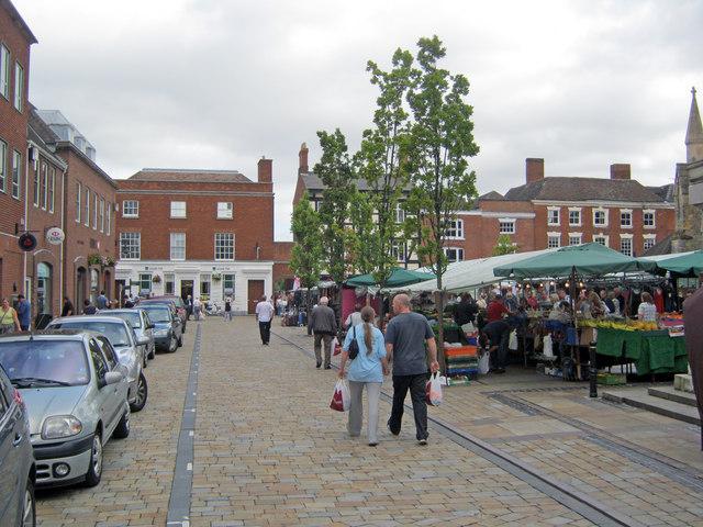 Lichfield – Market Day
