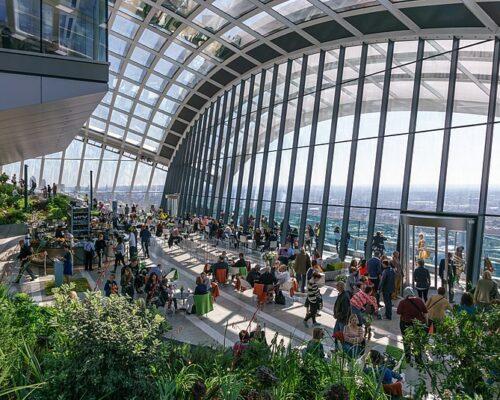 Flower Market & Sky Gardens